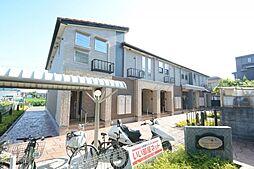 兵庫県伊丹市御願塚8丁目の賃貸アパートの外観