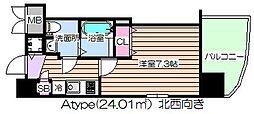 レグゼスタ福島II[10階]の間取り