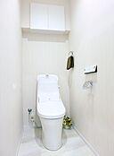 仕様イメージ  清潔で快適な温水洗浄機能付トイレです