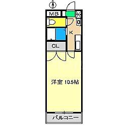 レジデンス・ユニ[1階]の間取り