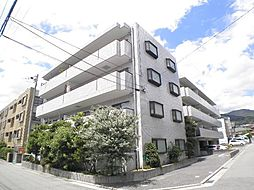 兵庫県芦屋市津知町の賃貸マンションの外観
