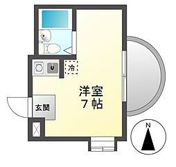 プレアール名古屋御器所[3階]の間取り