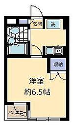 メゾンマルタ氷川台[305号室]の間取り