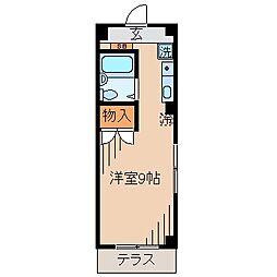 サンピア大倉山[103号室]の間取り