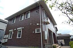 兵庫県神戸市北区鈴蘭台西町3丁目の賃貸アパートの外観