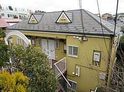 ハイツ古沢[2階]の外観