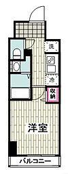 N-stage Hiratsuka エヌステージヒラツカ 9階1Kの間取り