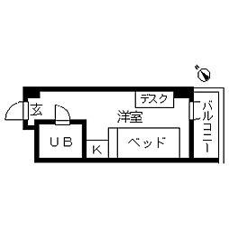 TOPROOM・品川[0306号室]の間取り