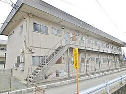 山梨県甲府市蓬沢町の賃貸アパートの外観