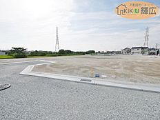 明姫幹線近くの開発分譲地です。