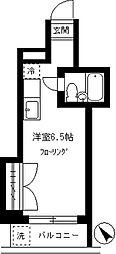 三原メゾン[402号室]の間取り