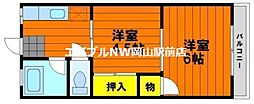 KAUL野田[4階]の間取り