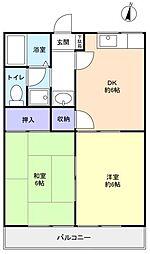 パークアレイ[2階]の間取り