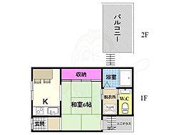 鳥羽街道駅 5.5万円
