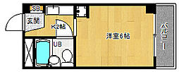 京都府京都市北区小山東元町の賃貸マンションの間取り