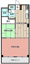 田町ビル[304号室]の間取り