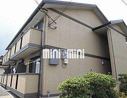 京都府京都市北区上賀茂畔勝町の賃貸アパートの外観