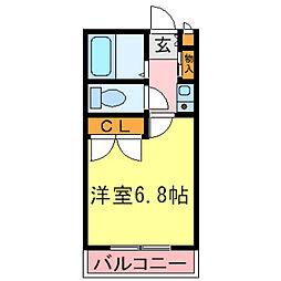 兵庫県神戸市西区池上2丁目の賃貸マンションの間取り