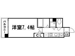 プレサンス京都修学院[3階]の間取り