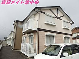 三重県津市久居小野辺町の賃貸アパートの外観