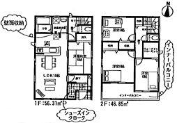埼玉県吉川市木売2丁目