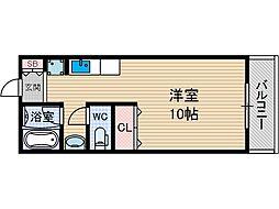 パルプラザ茨木[2階]の間取り