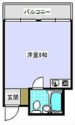 プチロイヤル住吉[3階]の間取り