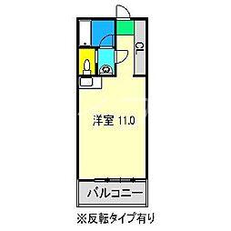 サンポートハイム高須[5階]の間取り