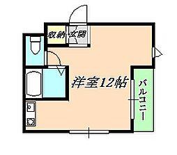 垂水ハイツ(滝ノ茶屋)[1階]の間取り