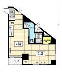 小田急相模原ビル[0402号室]の間取り