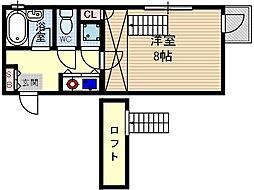 レーヴ95[3階]の間取り