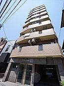 7階の角部屋です。2面バルコニーで周りに高い建物もなく、眺望良好です。