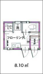 大島3アパート[1階]の間取り