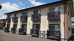 長野県松本市野溝西2丁目の賃貸アパートの外観