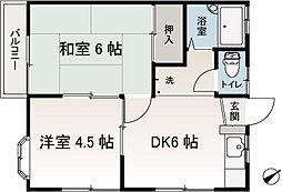 ベイウィンドウハウス[2階]の間取り