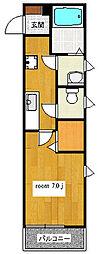 グラン ソレイユ[2階]の間取り