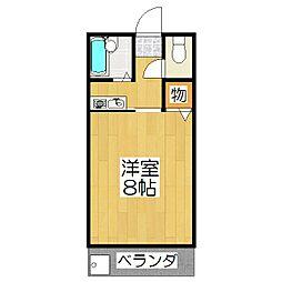 桂東ビル[303号室]の間取り