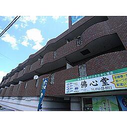 奈良県大和高田市築山の賃貸マンションの外観