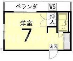バルーンクラブ2[4E号室号室]の間取り
