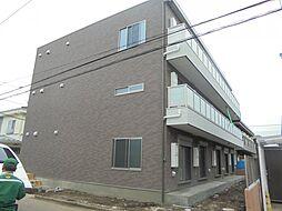 東京都小平市花小金井1丁目の賃貸アパートの外観