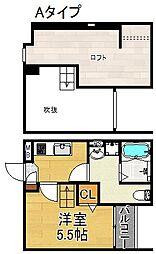 JUNOS garden[1階]の間取り