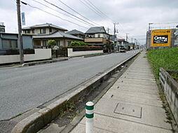 前面歩道と車道