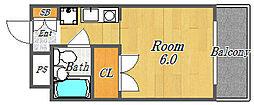 ハイグレードマンションサニー[50C号室号室]の間取り