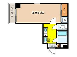 ペルル芦屋[2階]の間取り