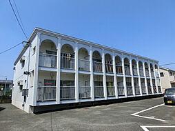 福岡県北九州市小倉南区中曽根3丁目の賃貸アパートの外観