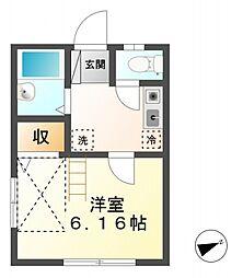 ライフコート貫井北町[1階]の間取り