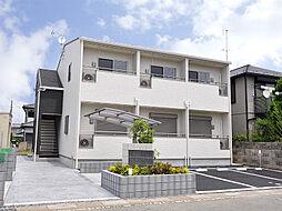 埼玉県東松山市若松町2丁目の賃貸アパートの外観