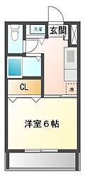 クレアトゥール八千代台[2階]の間取り