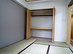 和室収納は押入れ 布団などの大物も片づけられます