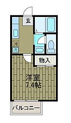 ステージア[2階]の間取り